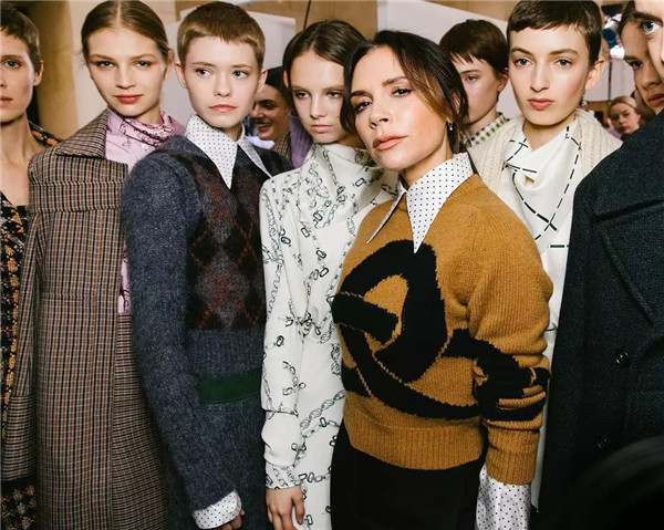 Victoria Beckham 2019秋冬伦敦时装秀